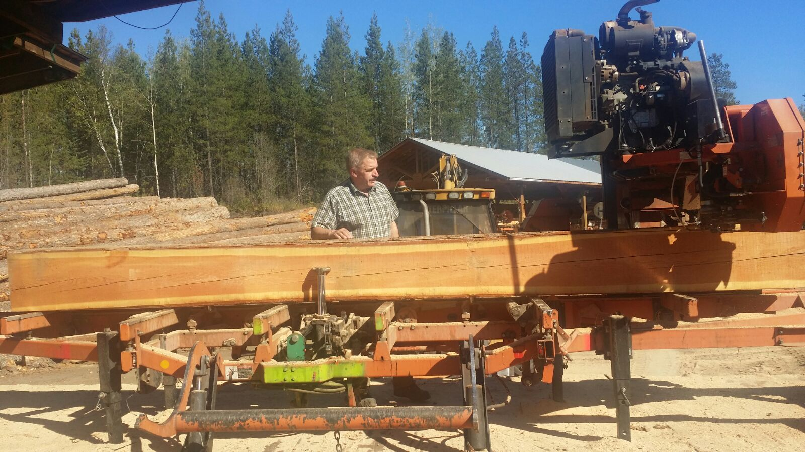 timber machine